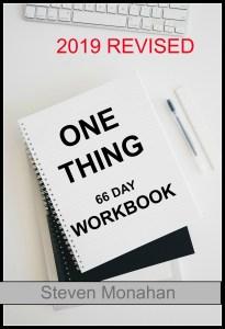 Steven Monahan One Thing Workbook