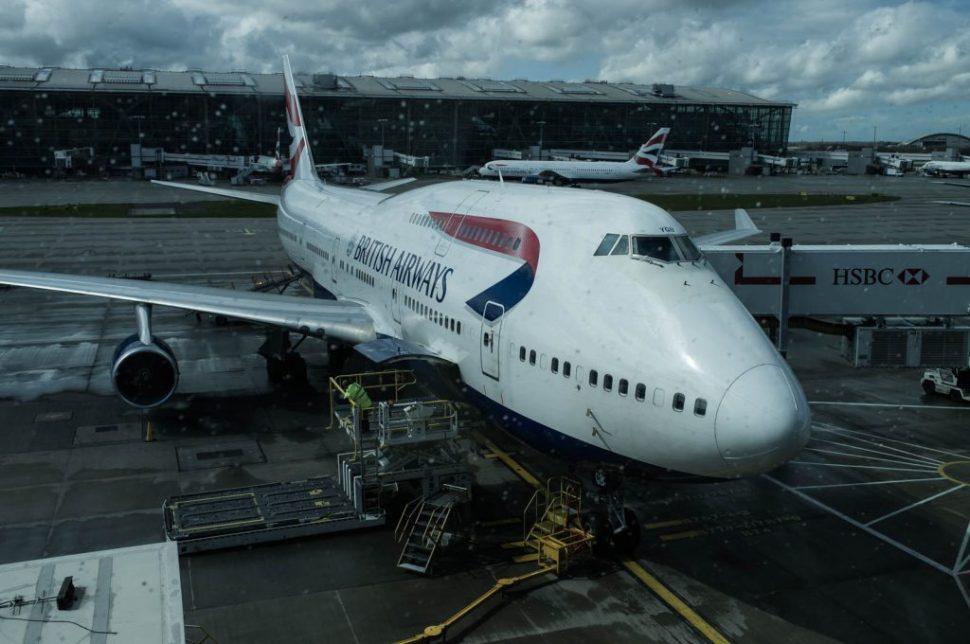 Jumbo 747 London Heathrow