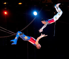 The struggles of the flying trapeze artist