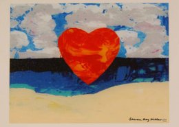 sunny day at the beach limited edition giclee on canvas by Steven Ray Miller Durham NC artist