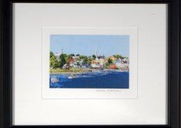 Peaceful Harbor Framed Mini Print