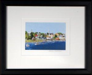 Peaceful Harbor Framed Mini 2
