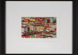 San Francisco Rooftops Framed Mini Print