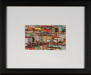San Francisco Rooftops Framed Mini Print