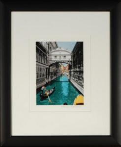 Venetian Canal Framed Mini Print