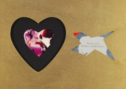 Valentine Easel #33 - Tempt your sense of exploration