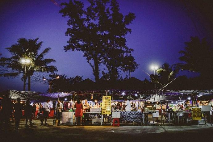 night market at karon beach