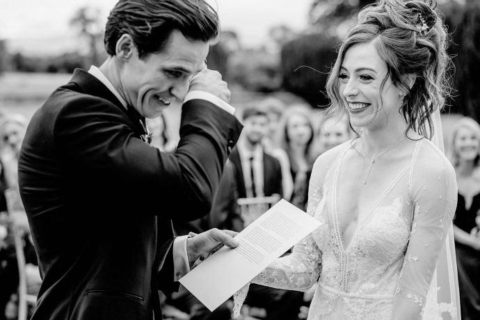 happy tears, wedding vows, nuptials