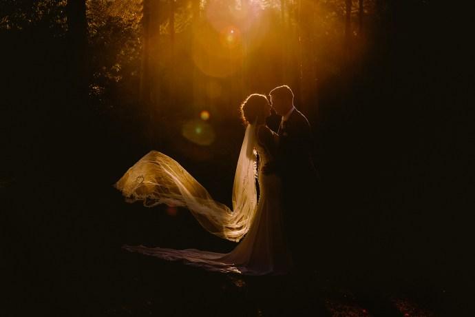 hillbark hotel wedding photographer, image of the bride and groom