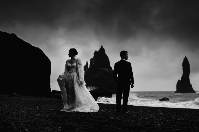 reynisfjara wedding photographer