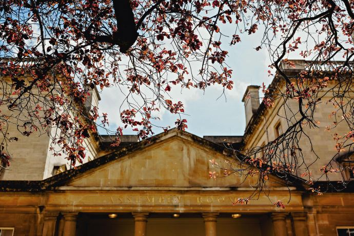 assembly rooms in bath, wedding photography, summer day