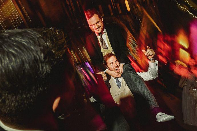 crazy dance floor action