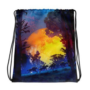 The Ride Away – Drawstring bag