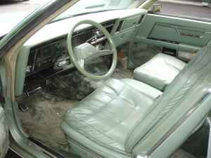 Imperial cars by Chrysler, 1981 to 1983  |1983 Chrysler New Yorker Interior