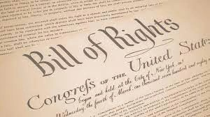The Bill of Rights no more…