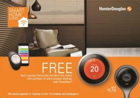 HunterDouglas Smart Home Event