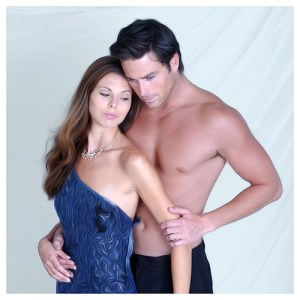 One of my past romance novel cover shoots