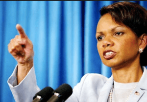 Condoleezza Rice crisis communications