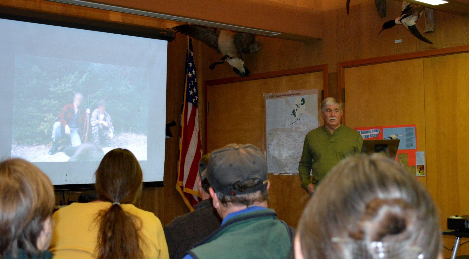 Photo of Author Steven T. Callan at Sacramento National Wildlife Refuge