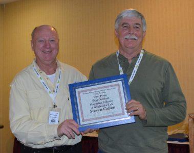 Steven T. Callan receiving OWAC award