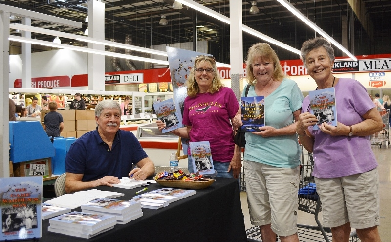Author Steven T. Callan and Friends at the Redding Costco Book Signing for The Game Warden's Son