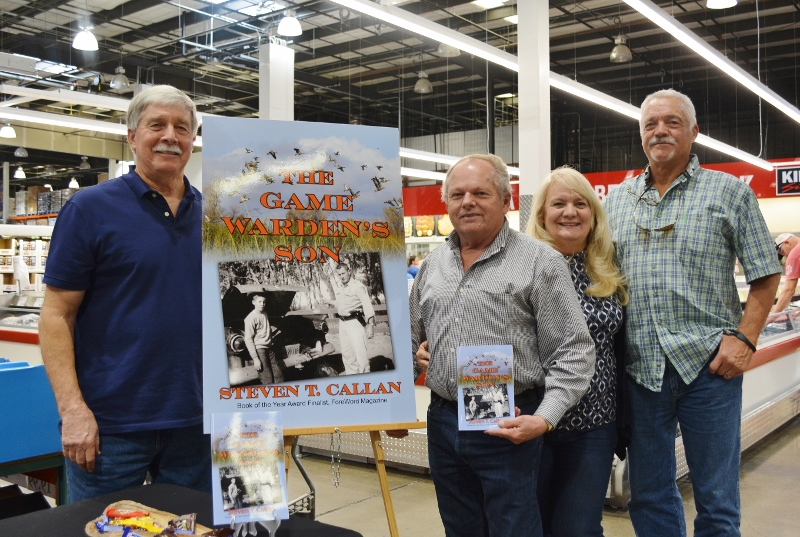 Author Steven T. Callan and Friends at Redding Costco Book Signing for THE GAME WARDEN'S SON