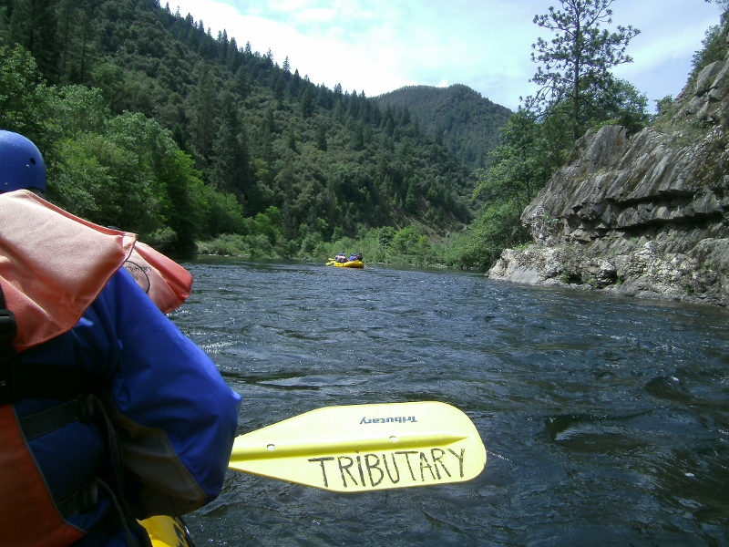 Rafting the Middle Fork American River. Photo by author Steven T. Callan.