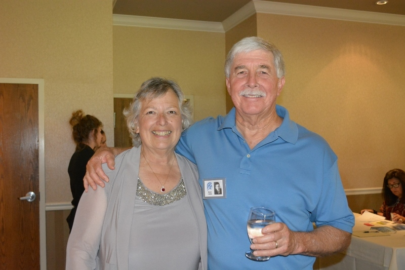 Steven T. Callan and Orland High School Class of '66 Classmate Kathy Skala