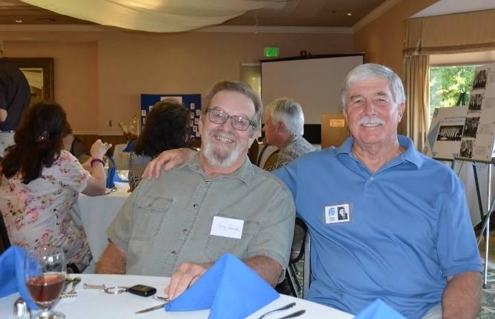 Steven T. Callan and Orland High School Class of '66 Classmate Larry Howard
