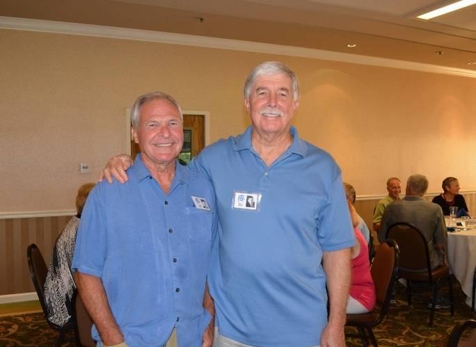 Steven T. Callan and Orland High School Class of '66 Classmate Harold Tanner