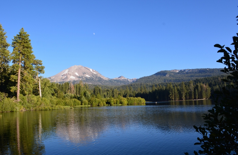 Manzanita Lake and Mount Lassen in Lassen Volcanic National Park. Photo by Steven T. Callan.