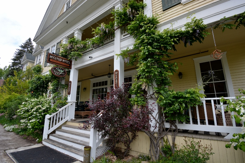 One of our favorite places to stay is the historic McCloud Hotel.