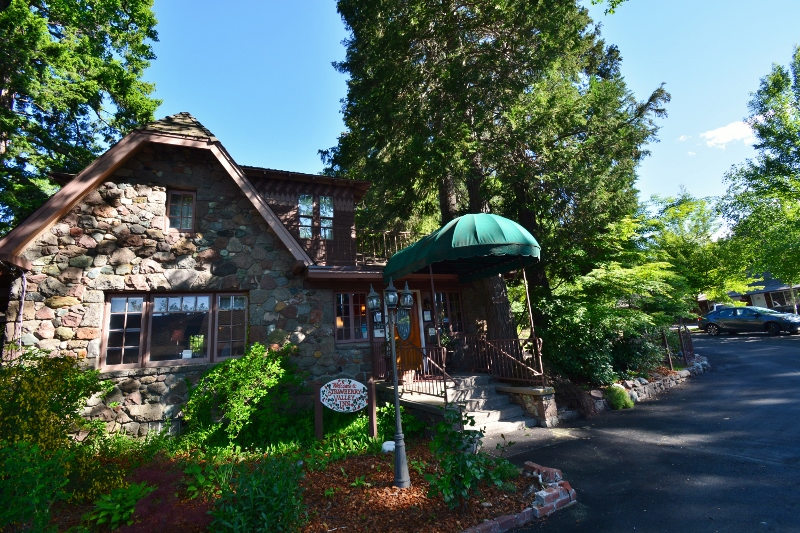 The beautiful Strawberry Valley Inn, located in the city of Mount Shasta.