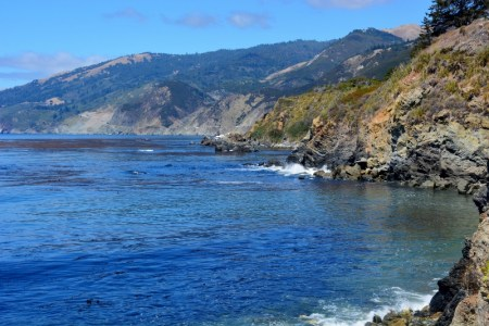 The drive along California's Highway 1 offers one scenic view after another. Photo by author Steven T. Callan.