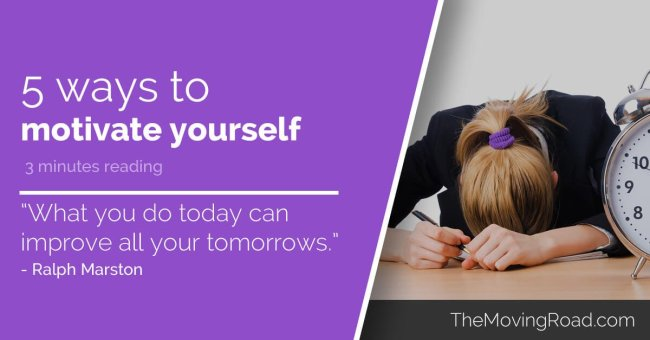 5 ways to motivate yourself