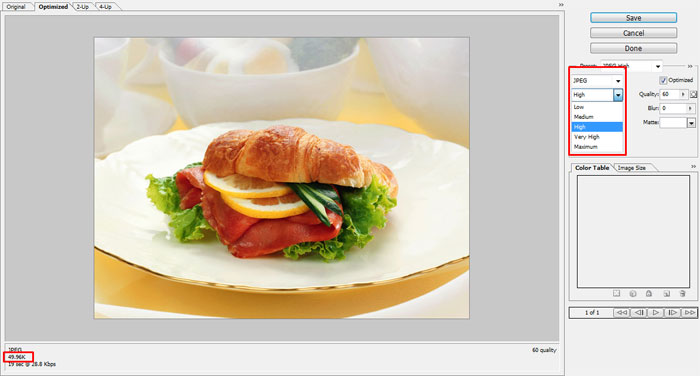 tips save gambar efisien