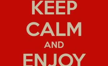 keep calm enjoy blogging