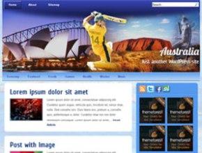australia wordpress theme