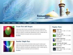 ramadhan wordpress theme