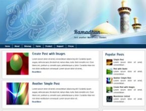 ramadhan wordpress theme