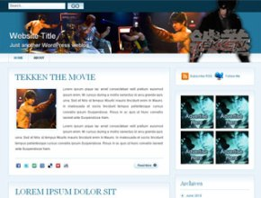 Tekken Wordpress Theme