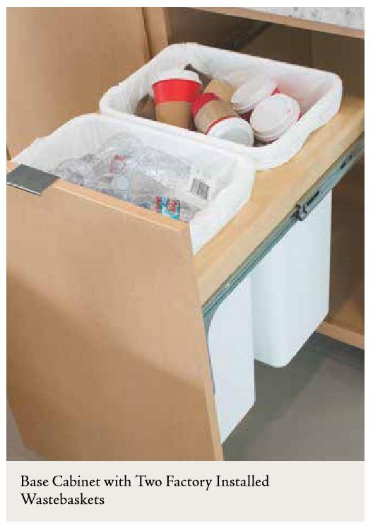 wastebaskets