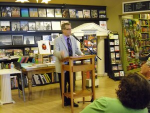 Signing copies of RESURRECTION BAY at Parnassus Books in Nashville--June 17 2014
