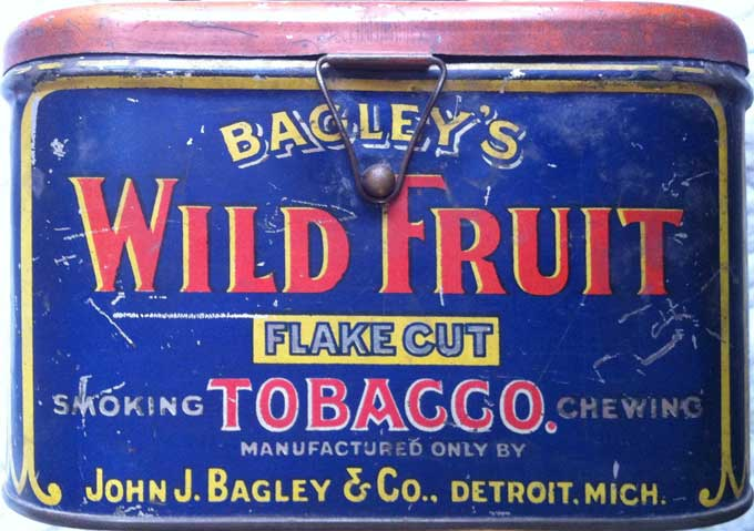 Bagleys Wild Fruit Label