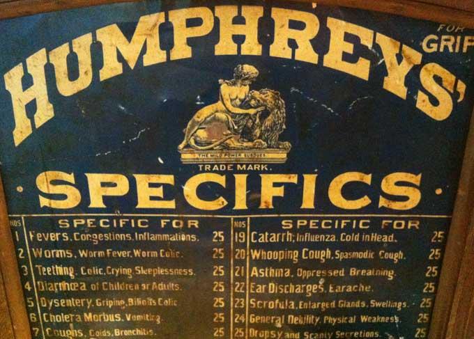 Humphrey Specifics