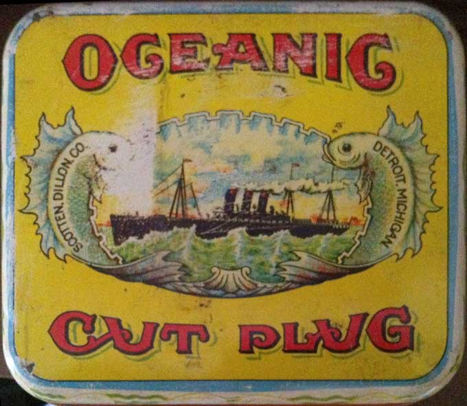Oceanic Cut Plug Label