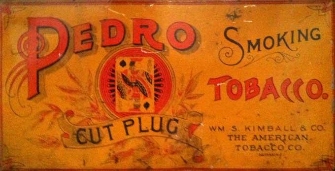 Pedro Cut Plug Label