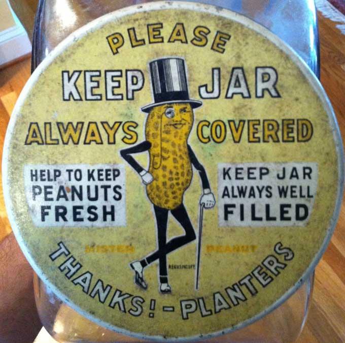 Planters Peanuts Label