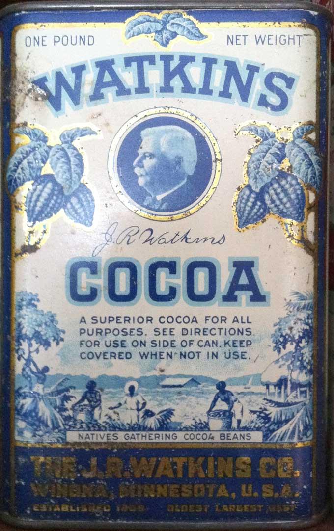 Watkins Cocoa Label