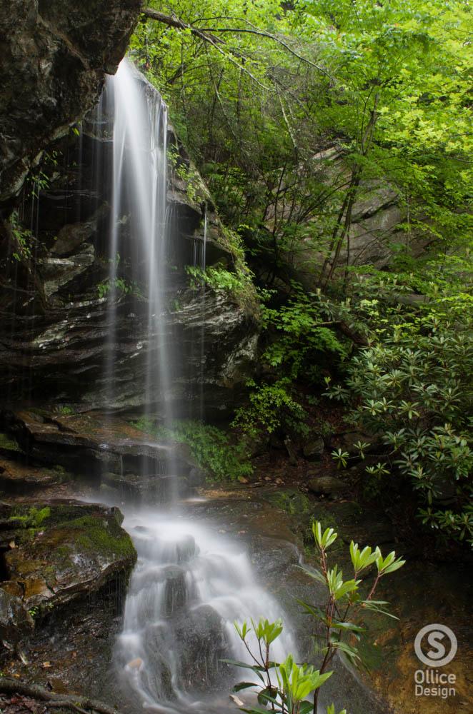 Window Falls, Hanging Rock state park
